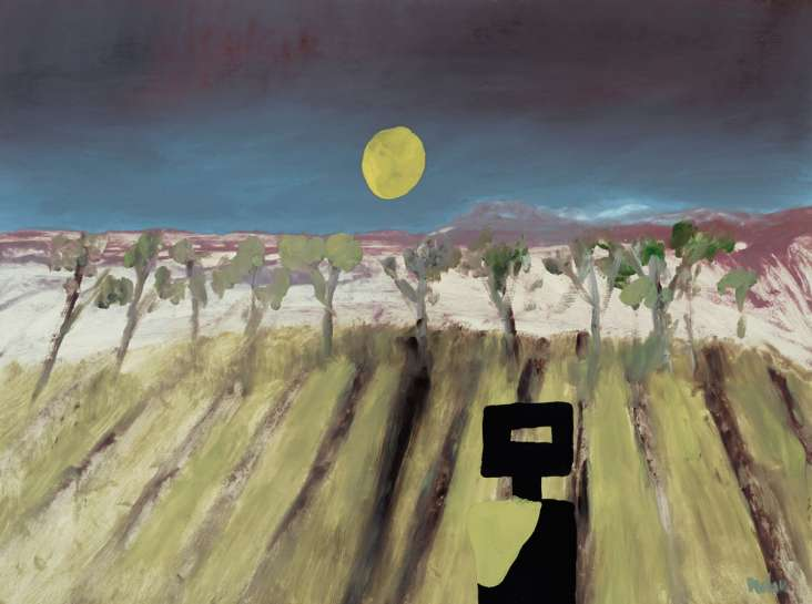 Moonlight by SIDNEY NOLAN