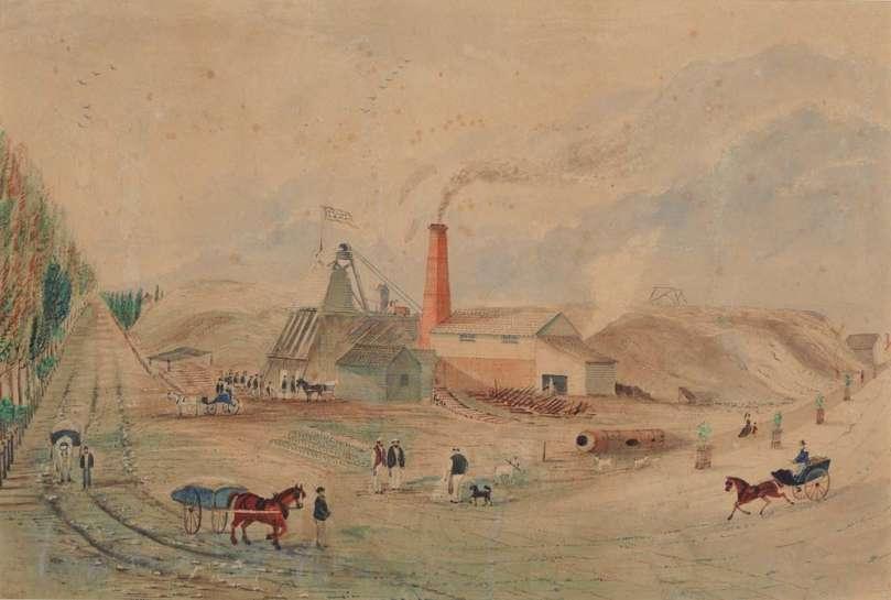 The Parade Quartz G. M. C. Claim Ballarat East, March 25th, 1879 by T.C. MOYLE