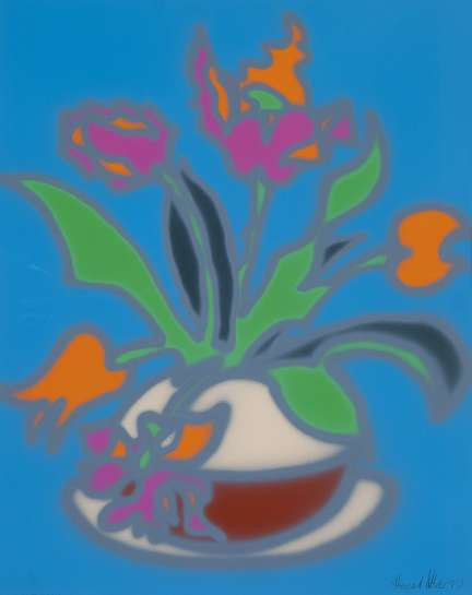 Tulips - Still Life by HOWARD ARKLEY