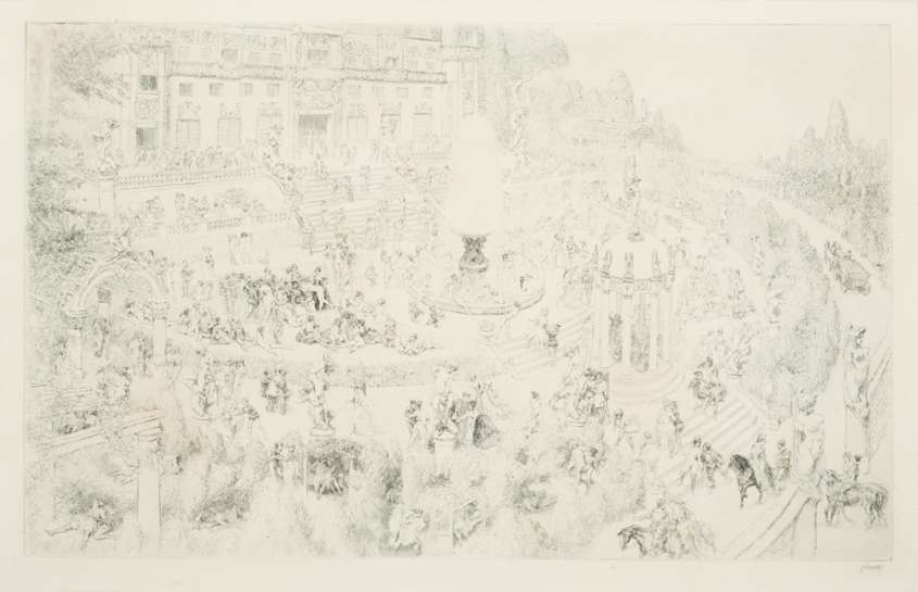 Castle Fanfrolico by NORMAN LINDSAY