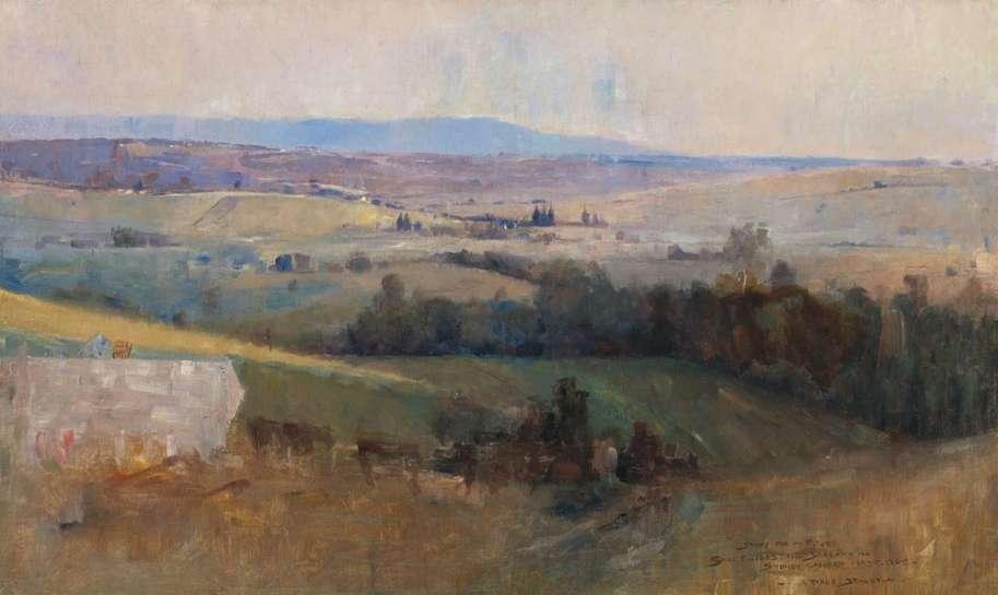 Study for Still Glides the Stream by ARTHUR STREETON