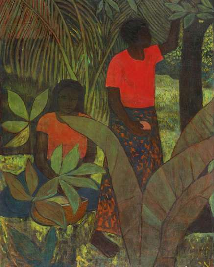 Untitled (Fiji Garden) by RAY CROOKE