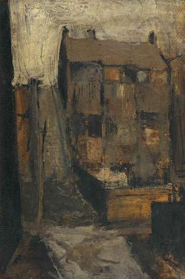 Untitled (Steps and Terrace Houses at Woolloomooloo) by BRETT WHITELEY