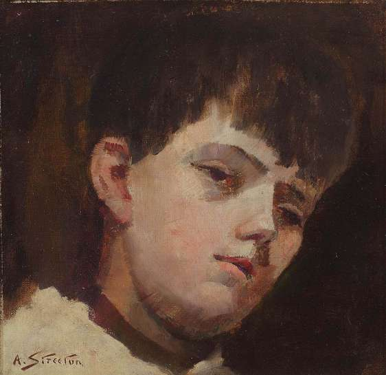 Portrait of a Young Boy by ARTHUR STREETON