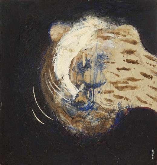 Head of a Lion by BRETT WHITELEY