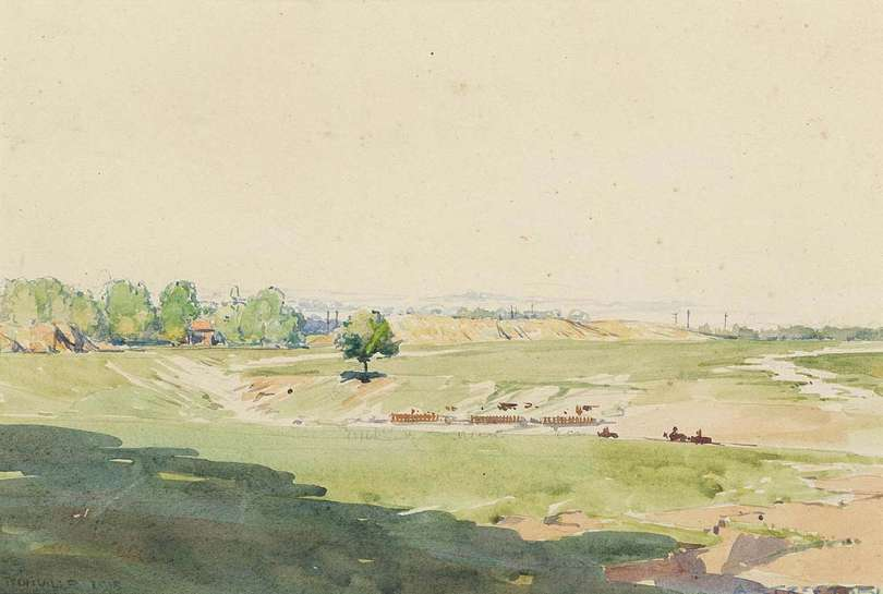 Tronville by ARTHUR STREETON