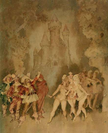 Untitled by NORMAN LINDSAY