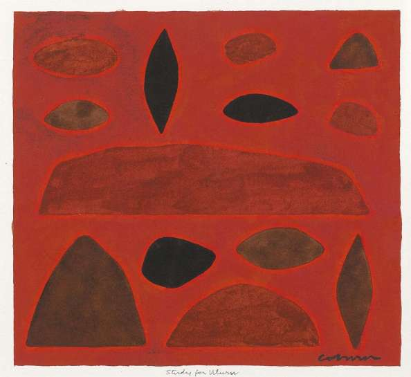 Study for Uluru by JOHN COBURN