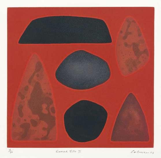 Sacred Site II by JOHN COBURN
