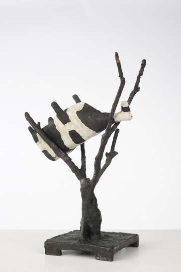 Cow up a Tree by JOHN KELLY
