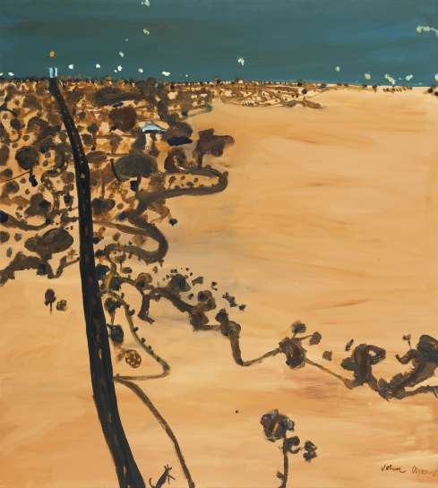 Mallee Road to Nhill I by JOHN OLSEN