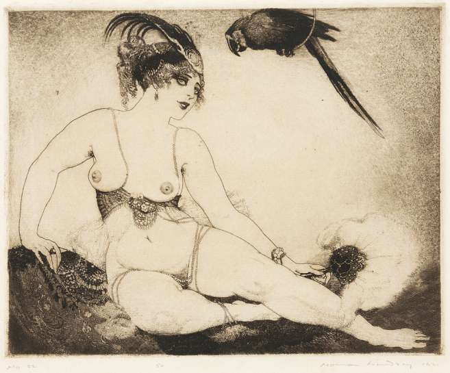 Lesbia by NORMAN LINDSAY