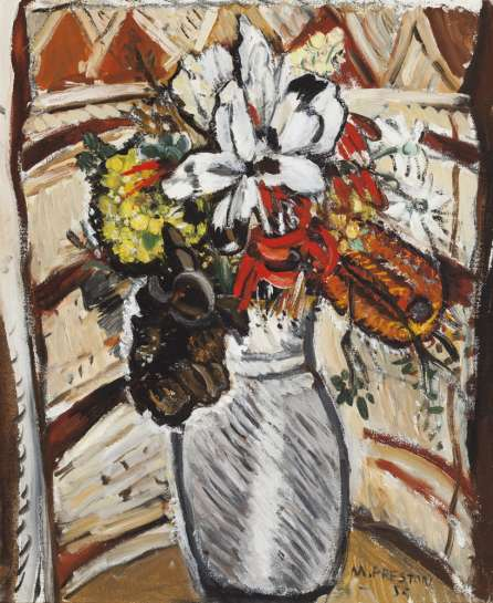 Flowers by MARGARET PRESTON
