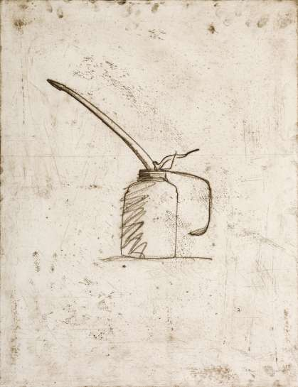 Oil Can by JIM DINE