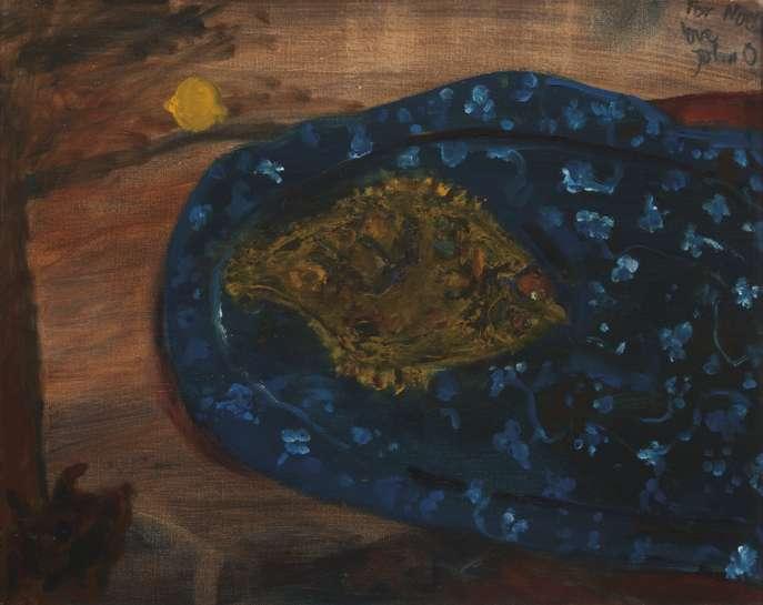 The Little Flounder by JOHN OLSEN