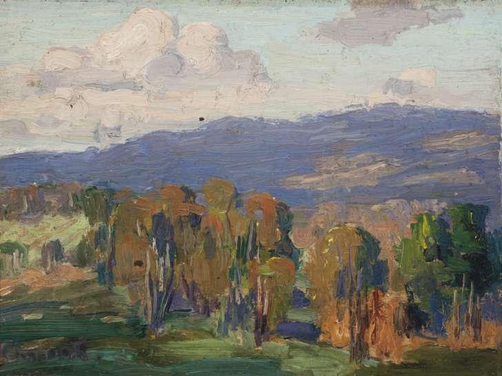 Landscape by ETHEL CARRICK FOX