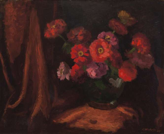 Flower Piece by ROLAND WAKELIN