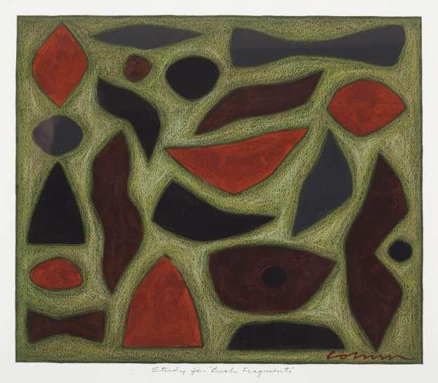 Study for Bush Fragments by JOHN COBURN