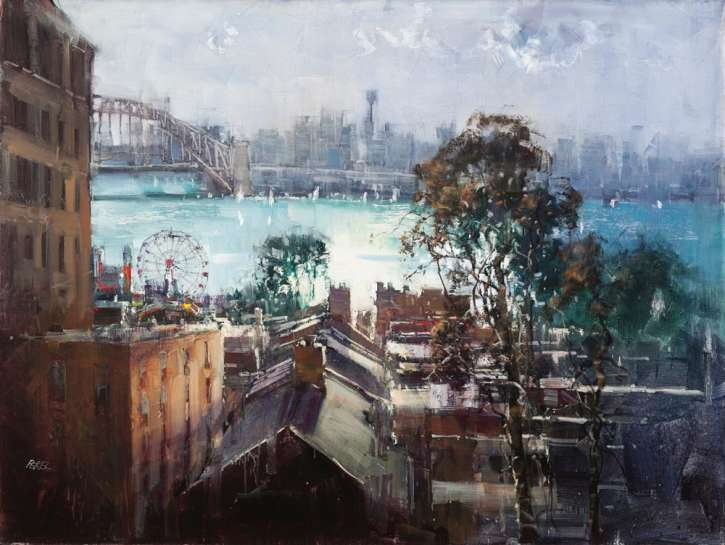 Luna Park from McMahons Point by HERMAN PEKEL