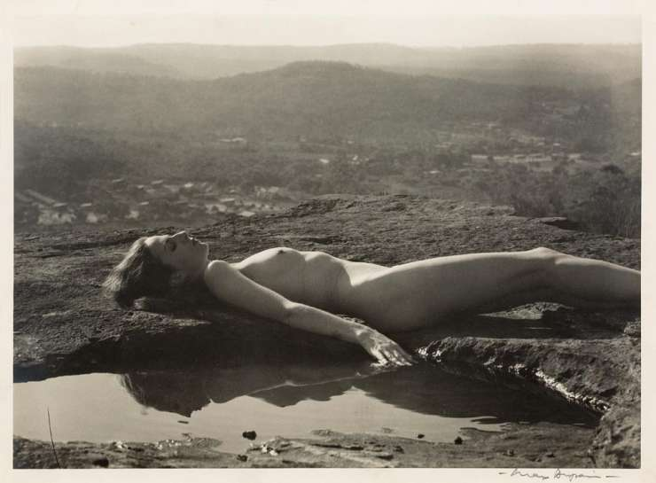 Landscape Nude by MAX DUPAIN