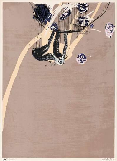 Swinging Monkey III by BRETT WHITELEY