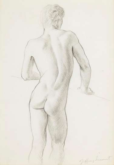 Untitled (Nude) by JEFFREY SMART