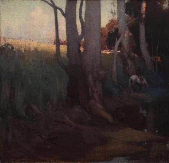 Landscape by GEORGE W. LAMBERT