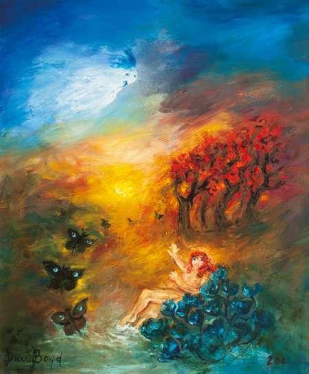 Butterflies Returning by DAVID BOYD