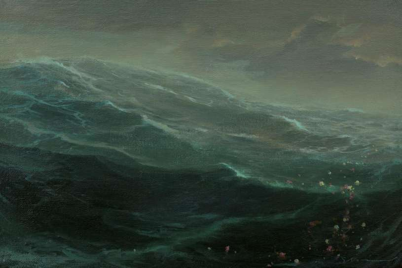 Untitled (Wave) by TIM STORRIER