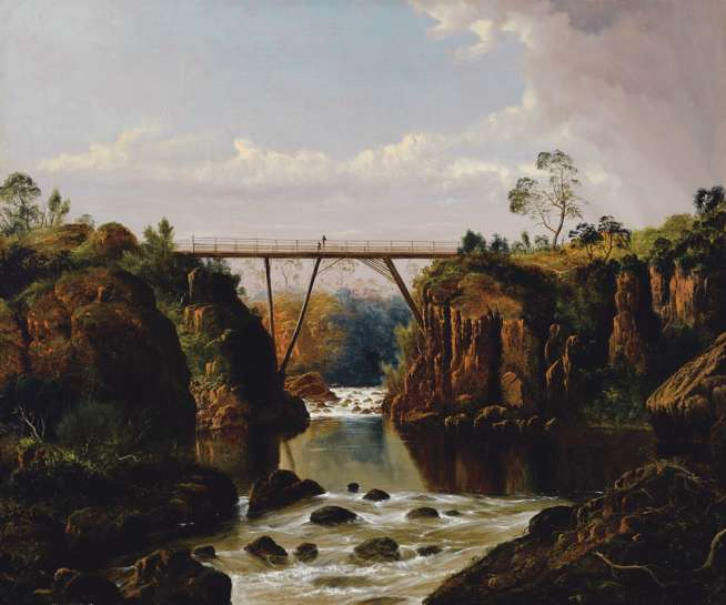 Bridge at Corra Lynn by HAUGHTON FORREST