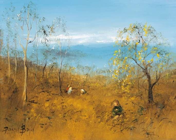 Children at Play by DAVID BOYD