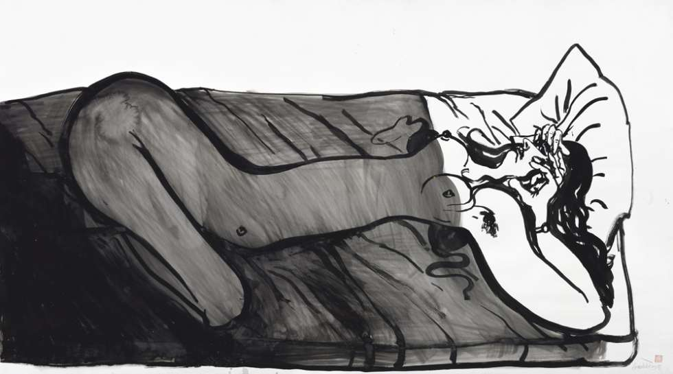 Reclining Nude by BRETT WHITELEY