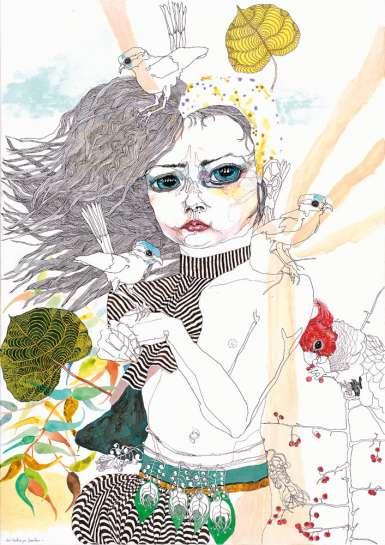 Girl #5 by DEL KATHRYN BARTON