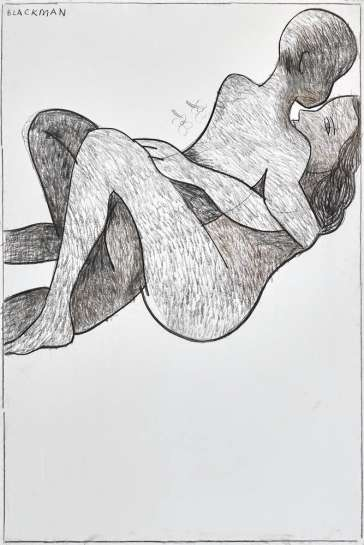 The Embrace by CHARLES BLACKMAN