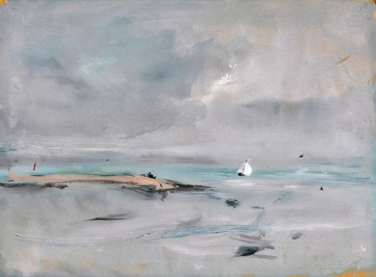 Untitled (West Wittering Landscape) by FRED WILLIAMS