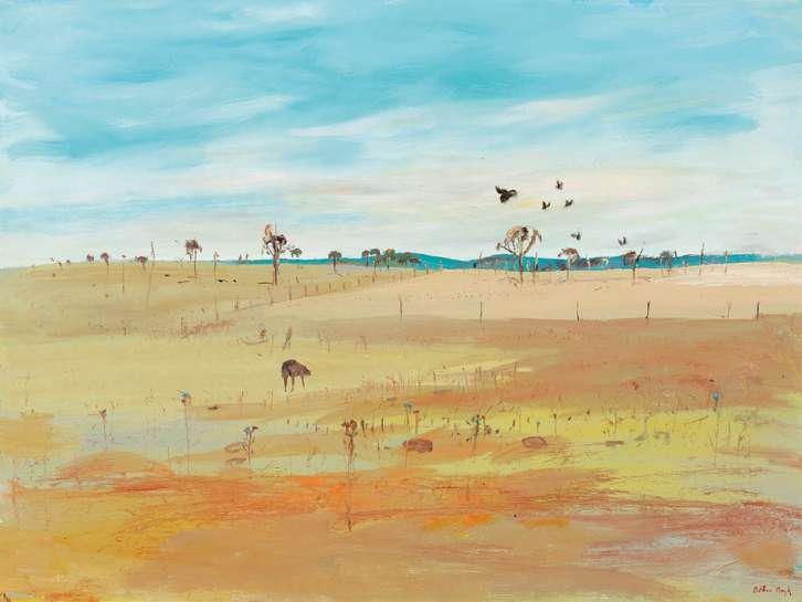 Wimmera Landscape by ARTHUR BOYD