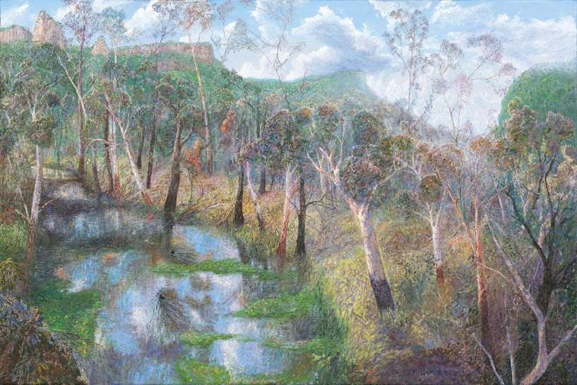 Summer Landscape, Nimbin by WILLIAM ROBINSON