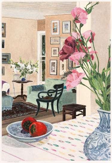 Bronte Interior by CRESSIDA CAMPBELL