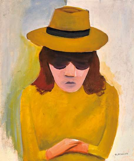 Barbara with Hat by CHARLES BLACKMAN