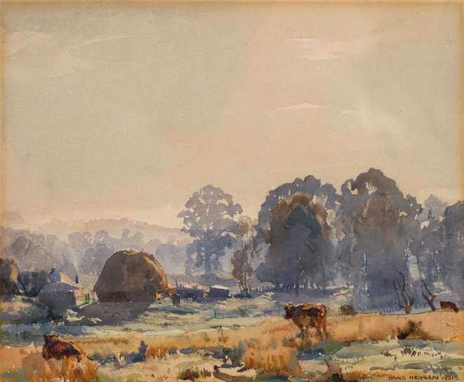 Frosty Morning by HANS HEYSEN