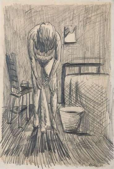 Morning Wash by CHARLES BLACKMAN