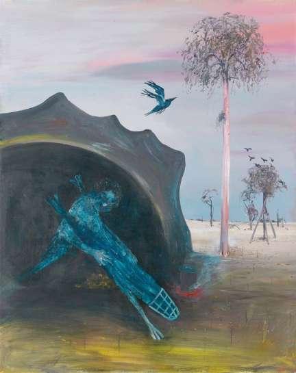 Sunset Cave by ARTHUR BOYD