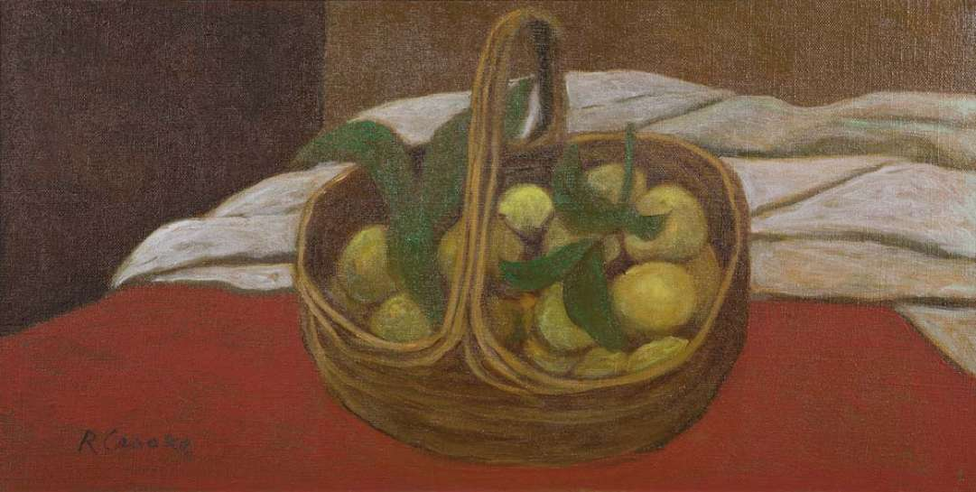 Basket of Lemons by RAY CROOKE