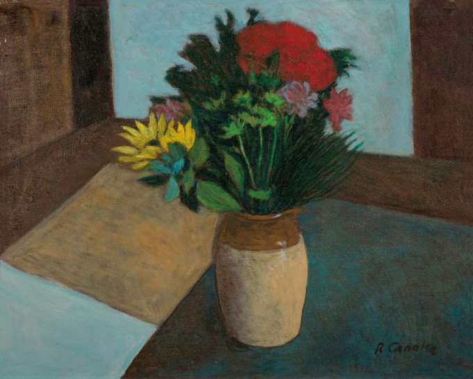 Vase of Flowers by RAY CROOKE