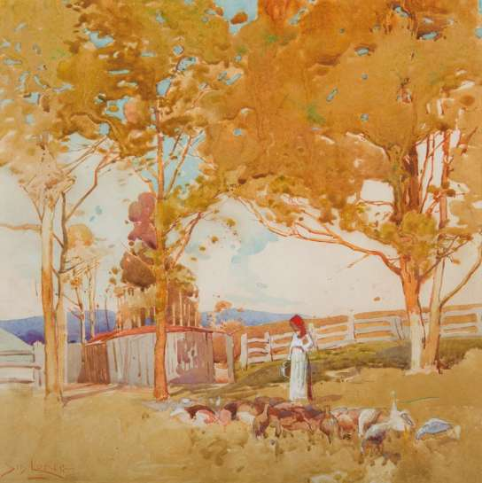 Summer Pastoral by SYDNEY LONG