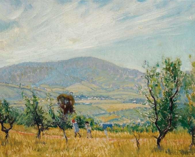 Summer Afternoon, near Hobart by VIDA LAHEY