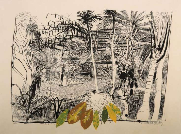The Garden in Sanur - Bali by BRETT WHITELEY