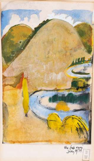 The Fish River by BRETT WHITELEY