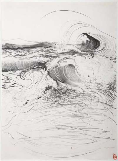 Moods of the Sea by BRETT WHITELEY