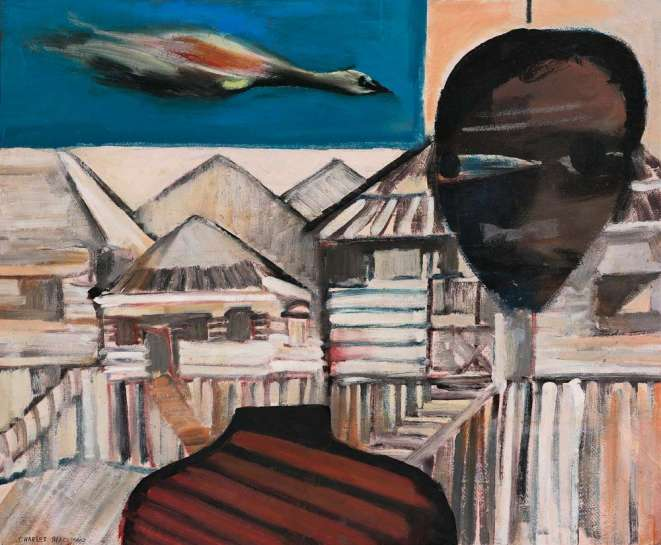 Queensland Town by CHARLES BLACKMAN